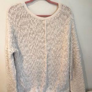 Free People Sweaters - White free people sweater